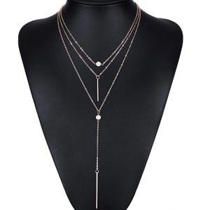 Jewelry - 3 Layer Geometric Necklace